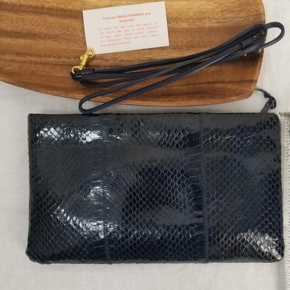 Handbags - Genuine Snake Skin Bag NWOT